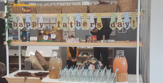 Father's day at BestStart Borman Road